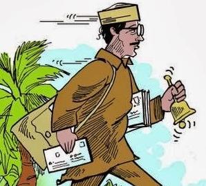 Postman-outside