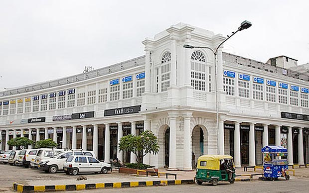Delhis Connaught Place To Be No go Zone For Vehicles