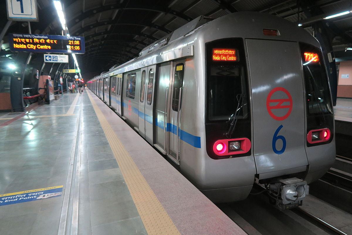 DelhiMetroBlueLineMitsubishiRotem