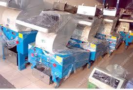 plastic crushing bottles machines