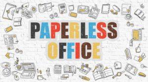 paperless working
