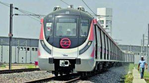 Delhi Metro Pink Line