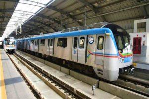 Ameerpet to LB Nagar metro-rail