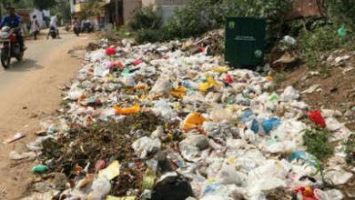 dumping waste