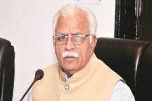 Chief Minister of Haryana, Manohar Lal Khattar
